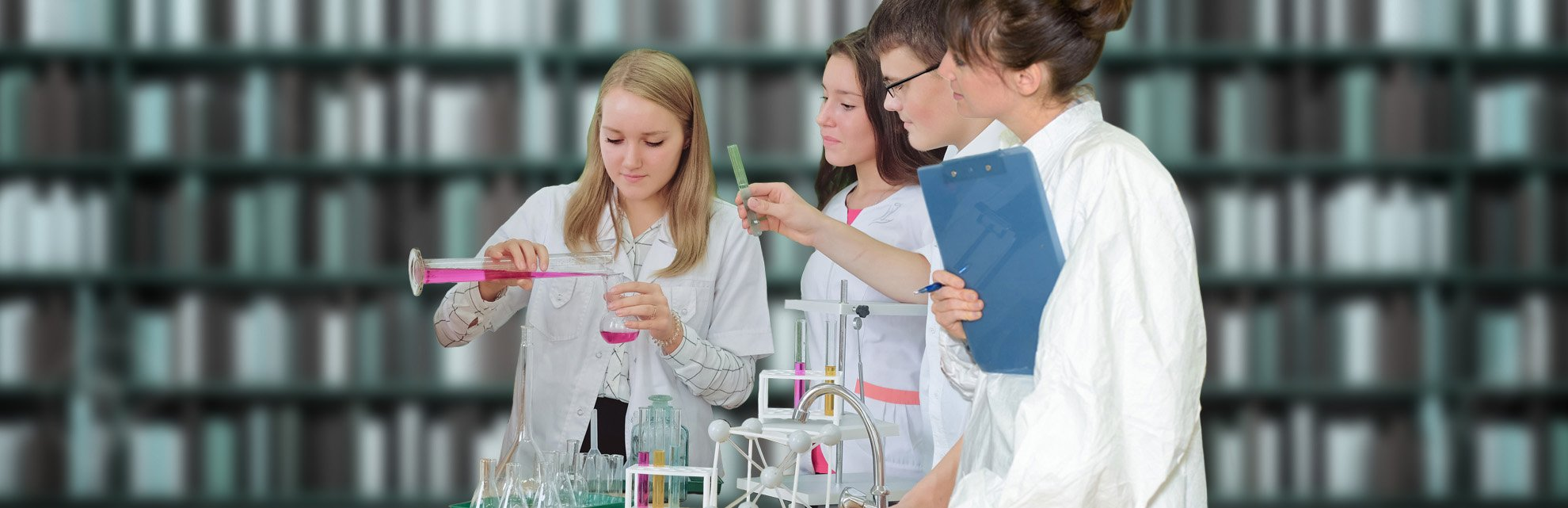 STEM Education Resource - Top Banner: Science